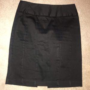 Black pen I'll skirt